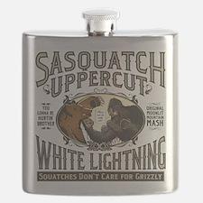 Sasquatch Uppercut White Lightning Flask