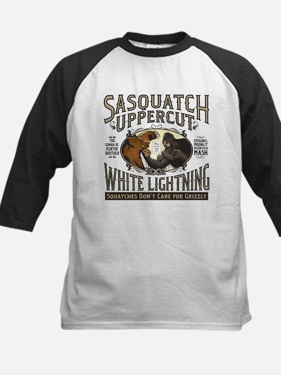 Sasquatch Uppercut White Lightning Baseball Jersey