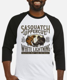Sasquatch Uppercut White Lightning Baseball Jersey