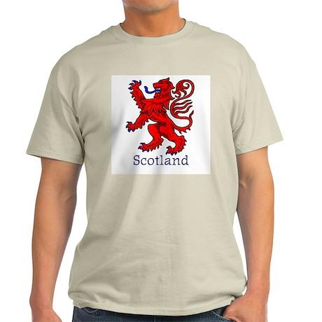 Lion Rampant Ash Grey T-Shirt