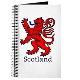 Red lion rampant Journals & Spiral Notebooks
