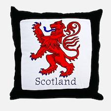 Lion Rampant Throw Pillow