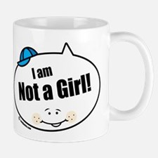 Not a Girl Funny Mug
