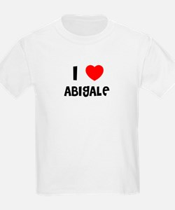 I LOVE ABIGALE Kids T-Shirt
