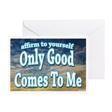 Positive Affirmation Greeting Card