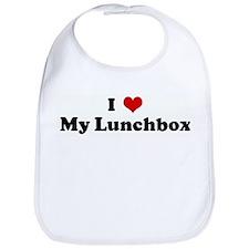 I Love My Lunchbox Bib
