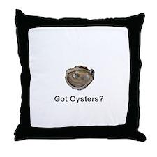 Got Oysters? Throw Pillow