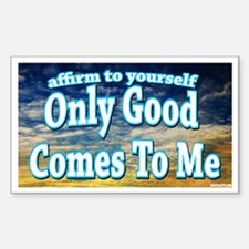 Positive Affirmation Rectangle Decal