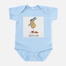Baseball Nut Infant Bodysuit