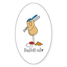 Baseball Nut Decal