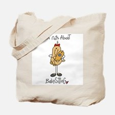 Nuts About Babysitting Tote Bag