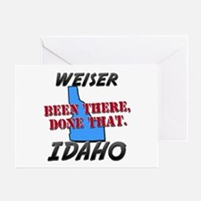weiser idaho - been there, done that Greeting Card