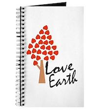 Love Earth (Heart Tree) Journal