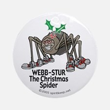 The Christmas Spider Ornament #7 (Round)