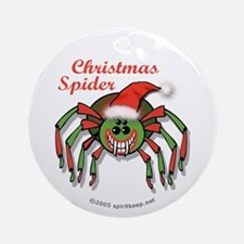 The Christmas Spider Ornament #8 (Round)