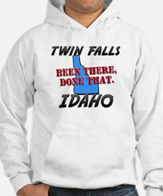 twin falls idaho - been there, done that Hoodie