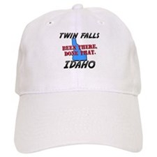 twin falls idaho - been there, done that Baseball Cap