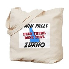 twin falls idaho - been there, done that Tote Bag