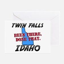 twin falls idaho - been there, done that Greeting