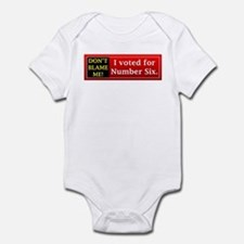 Don't Blame Me! Infant Bodysuit