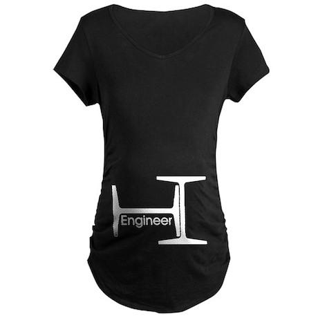 Engineer Maternity Dark T-Shirt