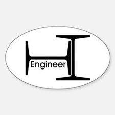 Engineer Oval Decal