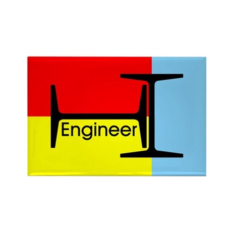 Engineer Rectangle Magnet (100 pack)