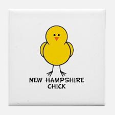 New Hampshire Chick Tile Coaster
