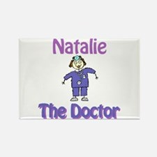 Natalie - The Doctor Rectangle Magnet