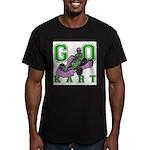 Go Kart Adult Men's Fitted T-Shirt (dark)