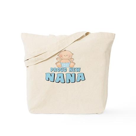 New Nana Baby Boy Tote Bag