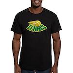 Tennis Attitude Men's Fitted T-Shirt (dark)