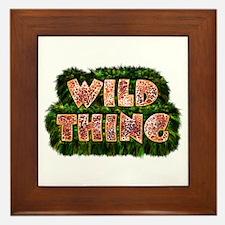 Wild Thing 3 Framed Tile