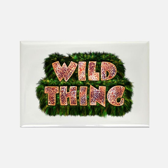 Wild Thing 3 Rectangle Magnet