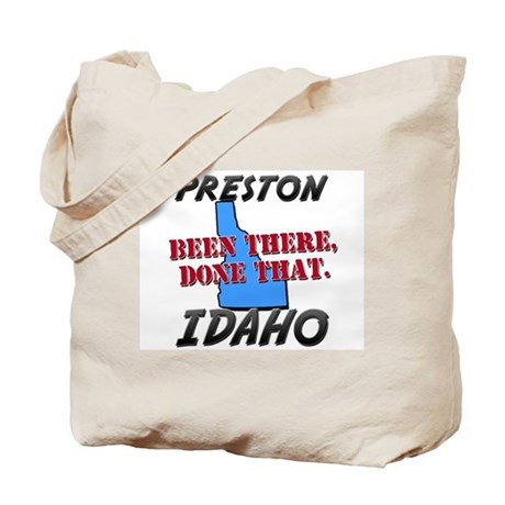 preston idaho - been there, done that Tote Bag