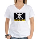 Death Zone Women's V-Neck T-Shirt
