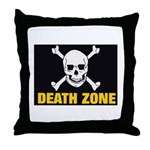 Death Zone Throw Pillow