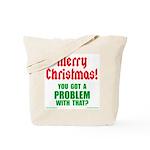 Christmas Problem Tote Bag