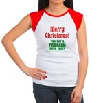Christmas Problem Women's Cap Sleeve T-Shirt