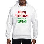 Christmas Problem Hooded Sweatshirt