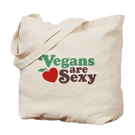 Vegans are Sexy Tote Bag