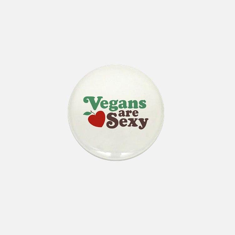 Vegans are Sexy Mini Button