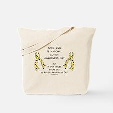 Autism Awareness Day Tote Bag