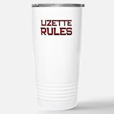 lizette rules Travel Mug