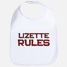 lizette rules Bib