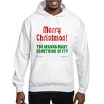 Christmas Attitude Hooded Sweatshirt