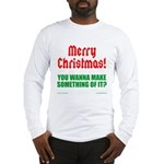 Christmas Attitude Long Sleeve T-Shirt