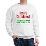 Christmas Attitude Sweatshirt