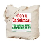 Christmas Attitude Tote Bag