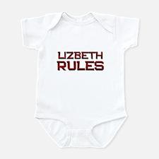 lizbeth rules Infant Bodysuit